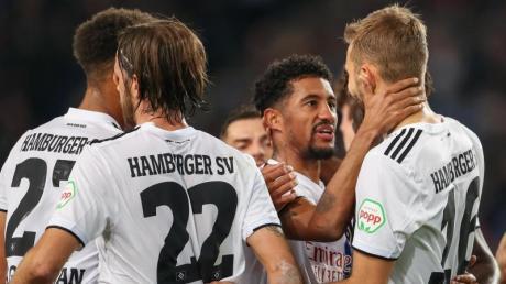 Der HSVführt die Tabelle der 2. Liga an. Foto: Friso Gentsch/dpa