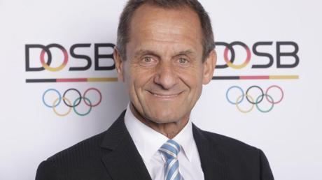 Hält auch Berlin für einen möglichen Kandidaten für Olympia 2032: DOSB-Boss Alfons Hörmann.