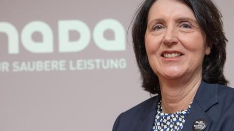 Befürworterin einer Kronzeugenregelung im Anti-Doping-Gesetz:NADA-Chefin Andrea Gotzmann.