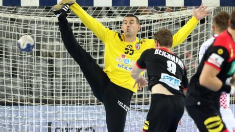 Tobias Reichmann steuerte fünf Treffer zum deutschen Testspielsieg in Kroatien bei. Foto: Damir SENCAR/HINA/dpa