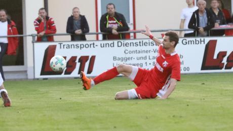 Die Spitze im Blick: Simon Knauer und der TSV Aindling können in Meitingen einen großen Schritt machen.