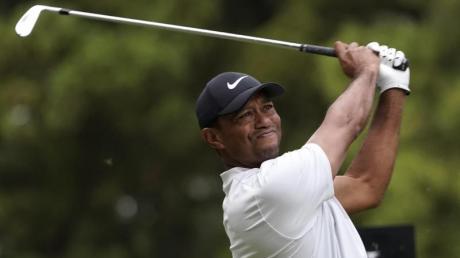 Liegt beim PGA-Turnier in Japan weiter an der Spitze: Tiger Woods.