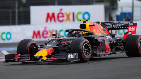 Red Bull-Pilot Max Verstappen musste die Pole Position in Mexiko nach einer Strafe wieder abgeben. Foto: Isaías Hernández/NOTIMEX/dpa
