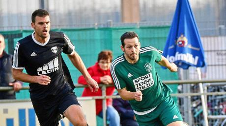 Er behielt die Nerven: Martin Froncek (rechts) verwandelte in der 85. Minute einen Foulelfmeter und verhalf dem SV Karlshuld zu einem 1:1 gegen den TSV Gaimersheim.