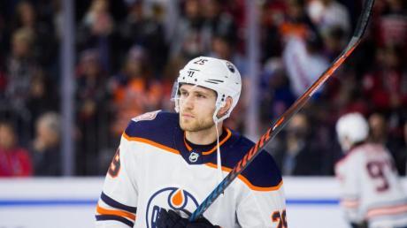 Kassierte an seinem Geburtstag eine Niederlage mit den Oilers: Leon Draisaitl.