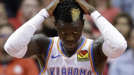 Dennis Schröder verlor mit Oklahoma City Thunder in Houston.