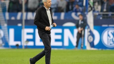 Dortmunds Trainer Lucien Favre steht derzeit in der Kritik.