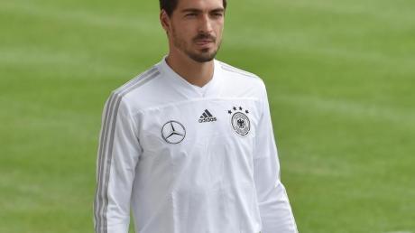 Könnte in die Nationalmannschaft zurückkehren: Mats Hummels. Foto: Angelika Warmuth/dpa