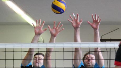 Die Volleyballer des TSV Inchenhofen um Thomas Wolf (links) starten am Samstag in die neue Saison. Nicht mehr mit dabei ist Sebastian Sieber (rechts), der eine Pause einlegt.