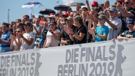 Die Finals 2019 fanden in Berlin statt und lockten zahlreiche Zuschauer zu den Sportstätten. Foto: Monika Skolimowska/zb/dpa