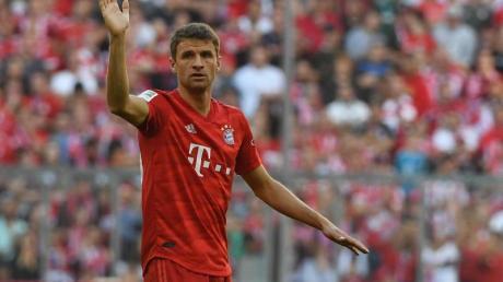 Steht vor seinem 500. Plfichtspiel im Bayern-Trikot: Thomas Müller.