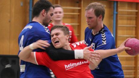 Timo Stubner (hier gegen Königsbrunn) und die Männer des TSV Aichach haben am Wochenende mit personellen Problemen zu kämpfen.