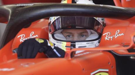 Sebastian Vettel will sich im Qualifying für den Großen Preis der USA durchsetzen. Foto: Darron Cummings/AP/dpa