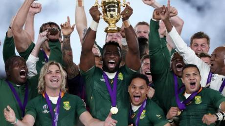 Zum dritten Mal darf sich Südafrika als Rugby-Weltmeister feiern lassen. Foto: David Davies/PA Wire/dpa