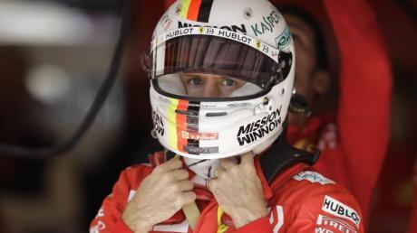 Startet in Austin von Platz zwei: Ferrari-Pilot Sebastian Vettel. Foto: Darron Cummings/AP/dpa