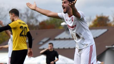 Der vermeintliche Siegtreffer des TSV Neusäß schien gefallen. Doch der Treffer von Akif Dogan wurde wegen einer angeblichen Abseitsstellung nicht gegeben. So blieb es beim 1:1-Unentschieden im Aufsteigerduell.