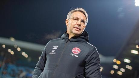 Ist nicht mehr Trainer beim 1. FC Nürnberg: Damir Canadi.