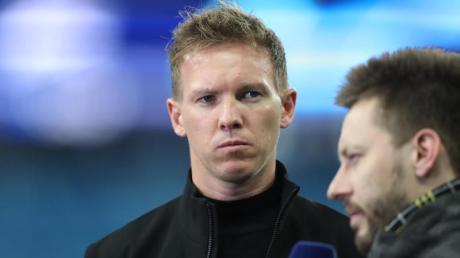 Muss in St. Petersburg in der Startaufstellung von RB Leipzig auf Timo Werner verzichten: Trainer Julian Nagelsmann. Foto: Jan Woitas/dpa