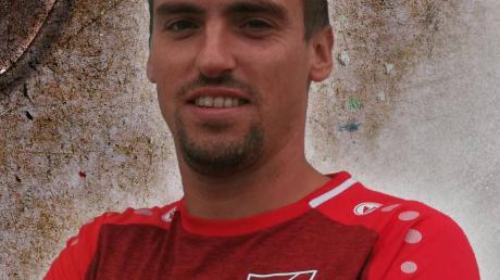 Bernhard Gebhart tippt für den SV Bertoldsheim.