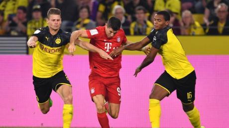 Zum Topspiel des elften Spieltages empfängt der FCBayern München am Samstag Abend Borussia Dortmund. Foto: Marius Becker/dpa