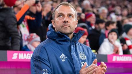 Bleibt vorerst Trainer beim FC Bayern: Hansi Flick. Foto: Sven Hoppe/dpa