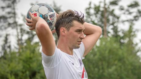 In Ingolstadt musste Martin Hennebach in eine völlig ungewohnte Rolle schlüpfen.