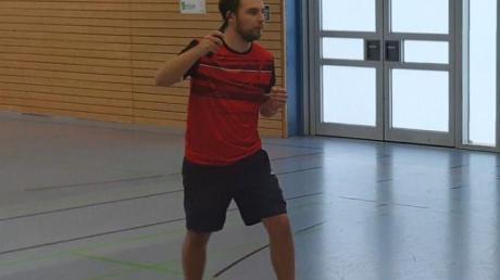 Verlor mit dem BSV Neuburg: Philipp Kissel.