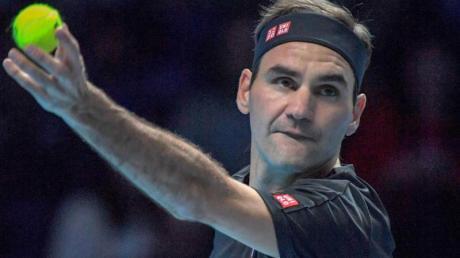 Roger Federer hat in London gegen Matteo Berrettini gewonnen. Foto: Roberto Zanettin/LPS via ZUMA Wire/dpa