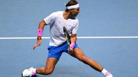 Wann sind die Grand-Slam-Turniere 2020? Termine & Live-TV. Im Bild: Rafael Nadal.