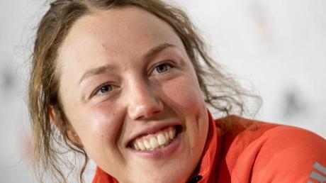 Laura Dahlmeier startet bei der Berglauf-WM in Argentinien. Foto: Michael Kappeler/dpa