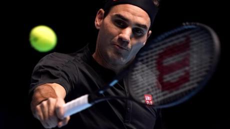Hat sich gegen Novak Djokovic durchgesetzt: Roger Federer. Foto: John Walton/PA Wire/dpa