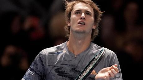 Kämpft bei den ATP Finals gegen den Russen Daniil Medwedew um den Halbfinal-Einzug: Alexander Zverev. Foto: John Walton/PA Wire/dpa
