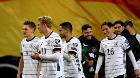 Die deutsche Nationalmannschaft will nun den Gruppensieg in der EM-Qualifikation. Foto: Federico Gambarini/dpa