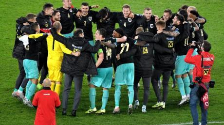 Österreich ist bei der EM 2020 dabei. Foto: Roland Schlager/APA/dpa