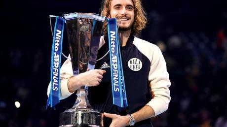 Stefanos Tsitsipas hat zum ersten Mal die ATP Finals gewonnen.
