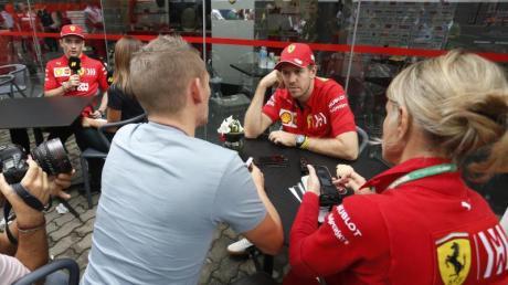 Sebastian Vettel und Charles Leclerc kollidierten beim GP von Brasilien und schieden beide aus.
