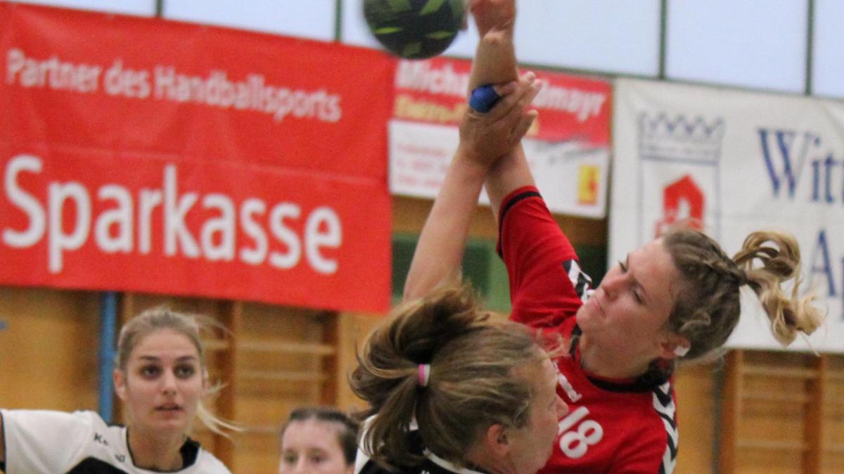 Aichacher Handballerinnen kassieren erste Niederlage - Augsburger Allgemeine