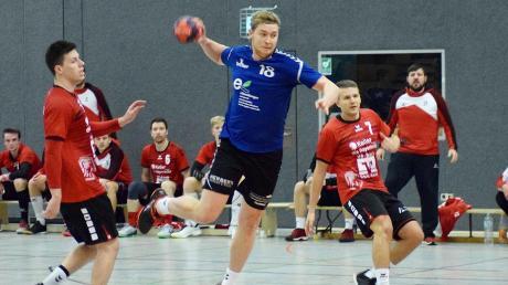 Sieben Treffer steuerte Nico Bartsch für den BHC Königsbrunn beim Spiel in Haunstetten bei, doch am Ende genügte es doch nicht zum Sieg.