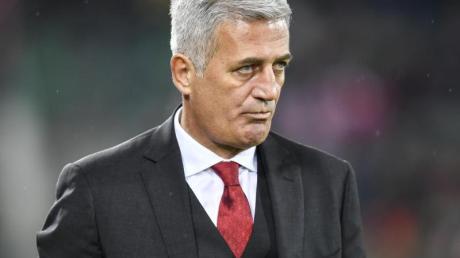 Die Zukunft von Vladimir Petkovic als Trainer der Schweizer «Nati» ist ungewiss. Foto: Gian Ehrenzeller/KEYSTONE/dpa