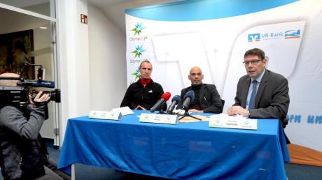 Sind mit einer Initiative für Winterspiele in Deutschland vorgeprescht: Frank Ullrich (l-r), Mike Helios und Thomas Kaminski.