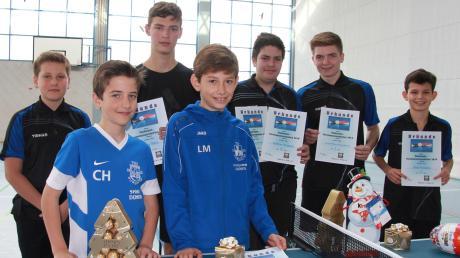 Die Jugendlichen des TSV Burgheim haben ihre Vereinsmeister gekürt.