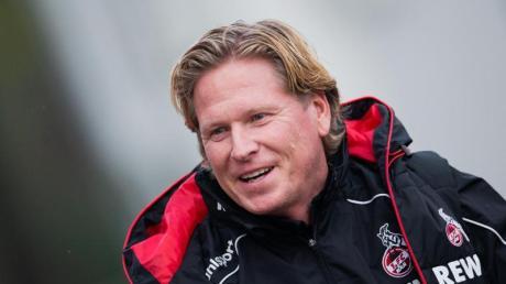 Gibt beim 1. FC Köln sein Debüt: Markus Gisdol.