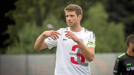 Ob Sebastian Bonfert beim Auswärtsspiel in Hankofen auflaufen kann, wird kurzfristig entschieden.