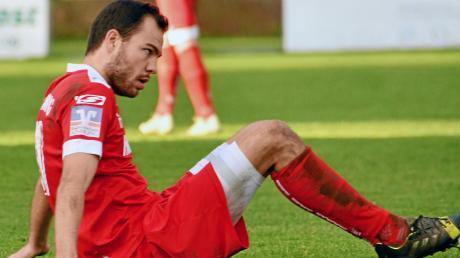 Enttäuscht waren die Aindlinger um Michael Hildmann nach dem 0:0 in Günzburg. Jetzt geht es erneut in die Kreisstadt, zum SC Bubesheim.