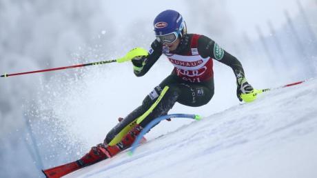 Startete mit einem Sieg in die Saison: Mikaela Shiffrin.