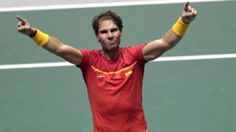 Steht mit Spanien im Davis-Cup-Endspiel: Rafael Nadal.