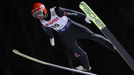 Ist mit den deutschen Skispringern in Wisla gefordert: MarkusEisenbichler.