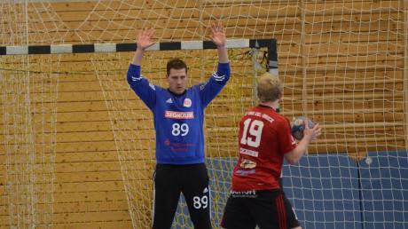 Torhüter Benjamin von Petersdorff war der überragende Rückhalt für die Friedberger Handballer beim eminent wichtigen Erfolg des TSV beim HT München. Die Friedberger festigten damit ihren Platz im Mittelfeld.