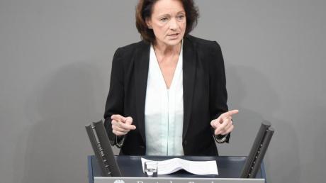 Dagmar Freitag, Sportausschussvorsitzende des Bundestages.