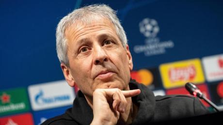 Steht mit dem BVB unter Druck: Trainer Lucien Favre.